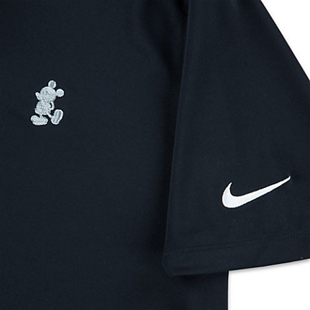 64a10b64 Disney Golf Polo Shirt for Men - NikeGolf Mickey Mouse - Black. Tap to  expand