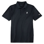 Disney Golf Polo Shirt for Men - NikeGolf Mickey Mouse - Black