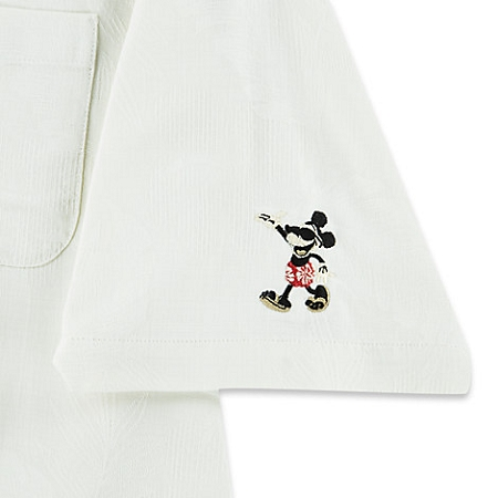 b6ccf34f Disney Tommy Bahama Shirt for Men - Mickey Mouse Woven - White. Tap to  expand
