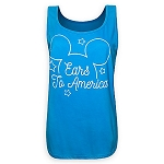 Disney Tank Shirt for Women - Mickey Mouse - Ears to America