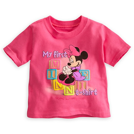 Disney Shirt for Infant - My First Minnie T-Shirt