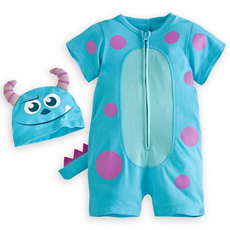 21e73f598 Disney Romper for Baby - Halloween Costume - Sulley