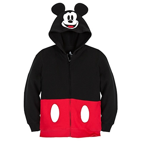 Disney Hoodie for Child - Mickey Mouse Ear Hood Halloween Costume