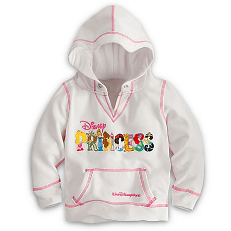 Disney Hoodie for GIRLS - Princess Walt Disney World Logo Pullover
