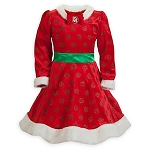 Disney Dress for Girls - Minnie Mouse Holiday Dress - Red