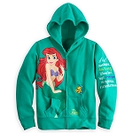 Disney Jacket for Girls - Ariel Hoodie - Happily ever after