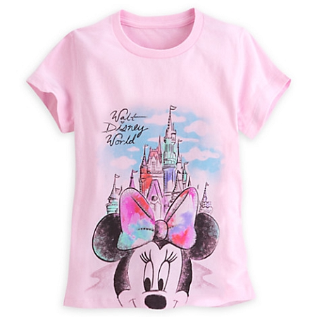 6b2e814a2 Add to My Lists. Disney Shirt for Girls - Minnie Mouse at Cinderella Castle  ...