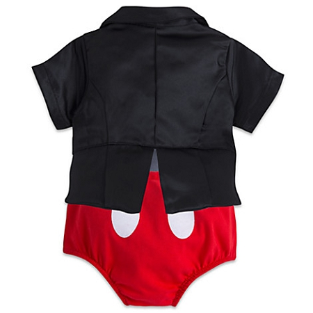 Disney Bodysuit for Baby - Mickey Mouse Tuxedo Costume. Tap to expand  sc 1 st  Magical Ears Collectibles & Disney Bodysuit for Baby - Mickey Mouse Tuxedo Costume