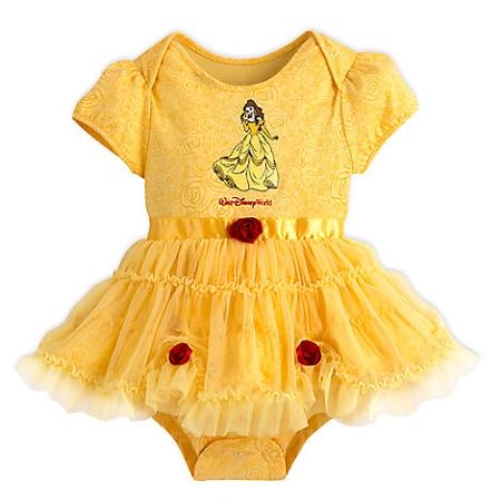 Disney Bodysuit Dress For Baby Belle Costume Walt Disney World