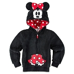 Disney Hoodie for Girls - Minnie Mouse - Plush