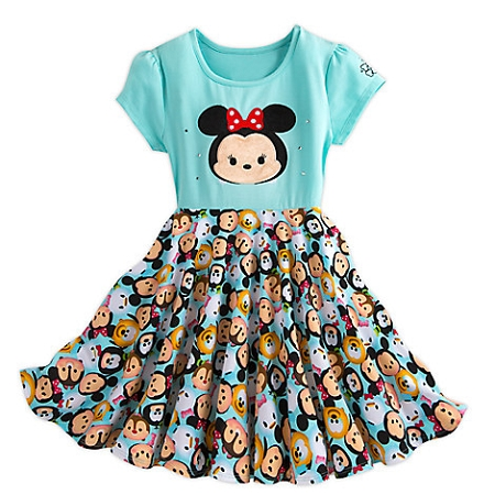 dc244f6b5bdc Disney Dress for Girls - Minnie Mouse and Friends - Tsum Tsum
