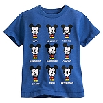 Disney Shirt for Toddler - Mickey Mouse Emoji Tee