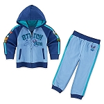 Disney Hoodie and Pants Set for Toddlers - Stitch - Fleece