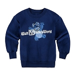 Disney Sweatshirt for Boys - Stitch - Walt Disney World - Blue