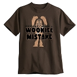 Disney Shirt for Boys - Chewbacca - Wookiee Mistake