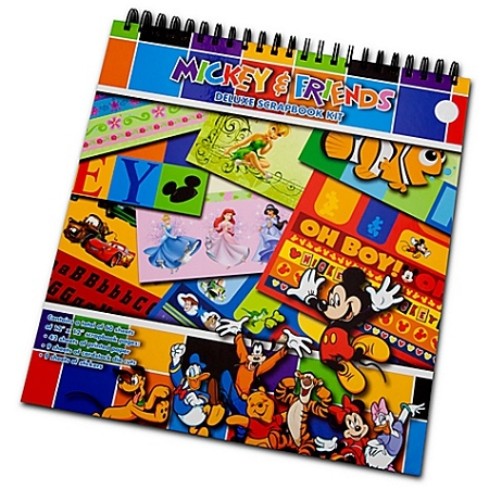 Disney Scrapbook Kit Deluxe Mickey Mouse And Friends