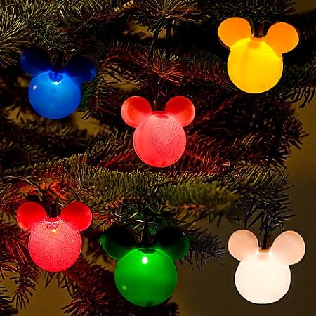 Disney Christmas Lights - Mickey Mouse Holiday Set