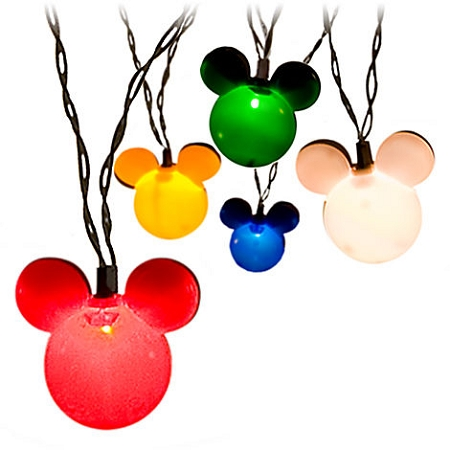 Disney Christmas Lights - Mickey Mouse Holiday Set