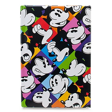 Disney Journal Notebook - Multicolor Pop Art Mickey Mouse