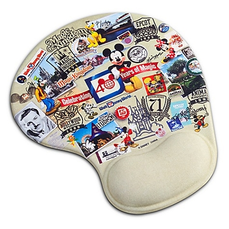Disney Mousepad - 40 Years of Magic - Walt Disney World