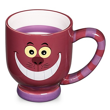 Disney Coffee Mug - Striped Cheshire Cat