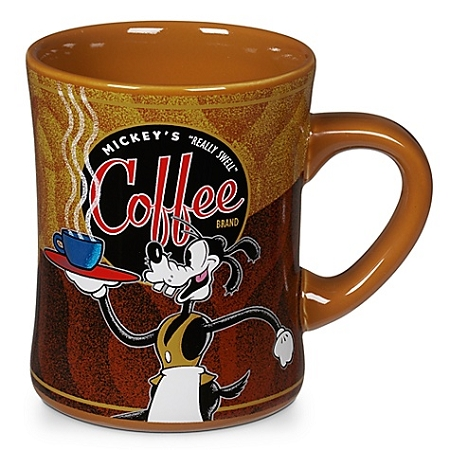 Disney Coffee Mug - Mickey's Really Swell Coffee Brand - Goofy