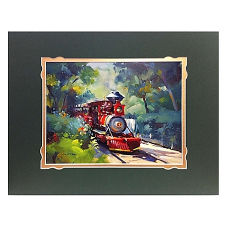 Disney Art Print - Frontierland Approach Deluxe Print on Paper