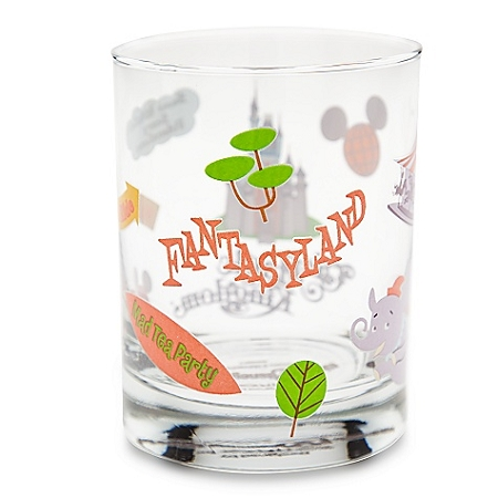 Disney Glass - Walt Disney World Fantasyland by Shag