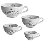 Disney Measuring Cup Set - Gourmet Mickey Mouse Icon -- Black and White