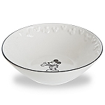 Disney Bowl - Gourmet Mickey Mouse Icon - Black and White