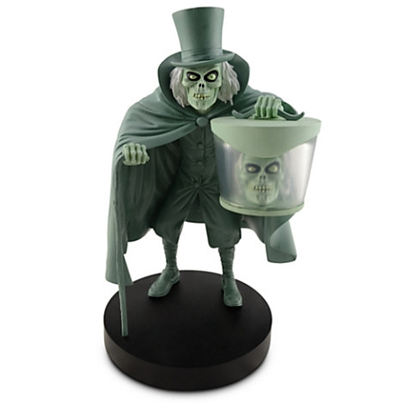 Disney Medium Figure Statue Haunted Mansion Hatbox Ghost
