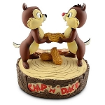 Disney Medium Figure Statue - Chip 'N' Dale - Peanuts