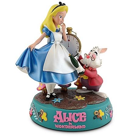 Disney Medium Figure Alice In Wonderland Alice And Rabbit