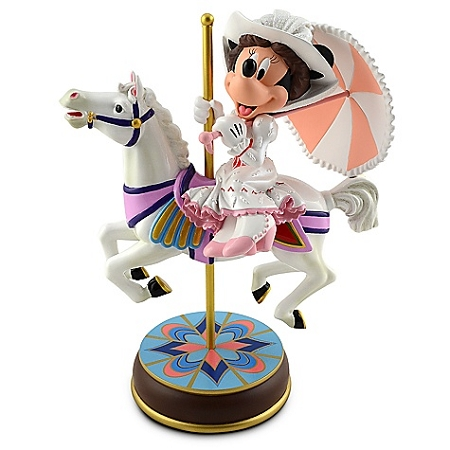 Disney Medium Figure Statue - Minnie Mouse as Mary Poppins