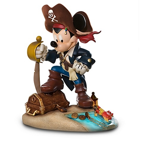 Disney Medium Figure Statue - Pirate Mickey Mouse