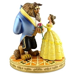 Disney Medium Figure Statue - Beauty and the Beast - Belle & Beast
