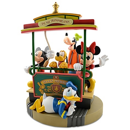 Disney Medium Figure - Main Street Trolley - Mickey Mouse and Friends