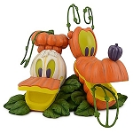 Disney Medium Figure Statue - Donald Duck and Pluto - Pumpkin