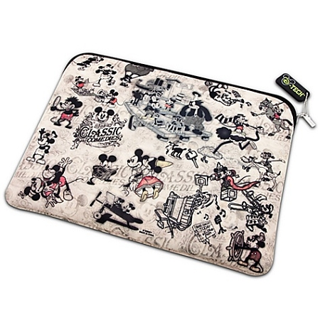 Disney Laptop Sleeve - Reversible Classic Mickey Mouse