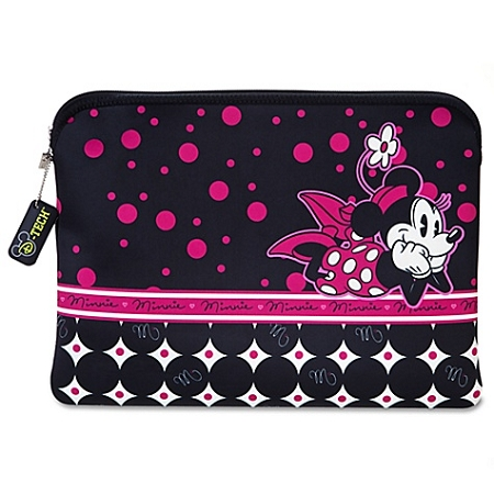 Disney Laptop Sleeve - Reversible Pop Dots Minnie Mouse