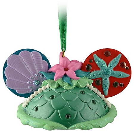 Disney Ears Hat Ornament - Ariel
