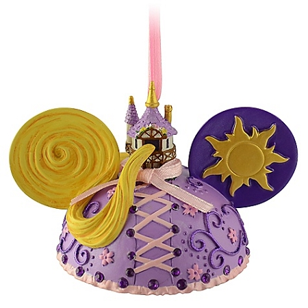 Disney Ears Hat Ornament - Rapunzel