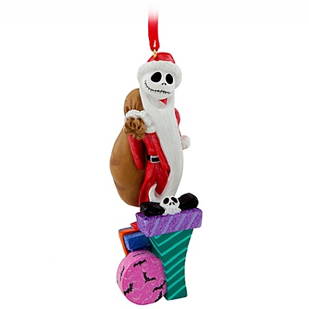 Disney Christmas Ornament - Santa Jack Skellington Pumpkin King