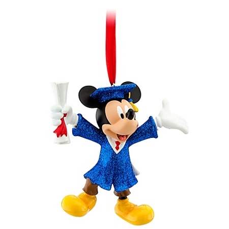 Disney Christmas Ornament - Graduation Nite Mickey Mouse