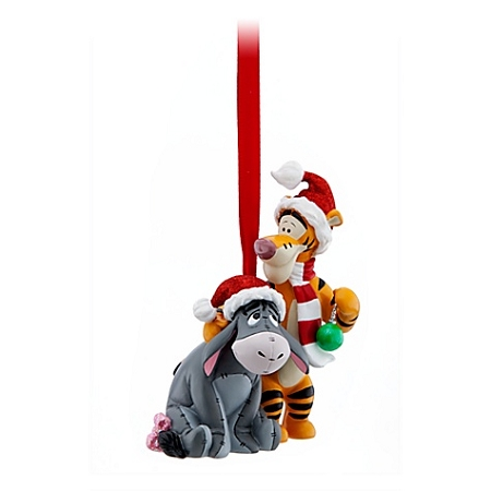Tigger Christmas Ornaments.Disney Christmas Ornament Santa Tigger And Eeyore