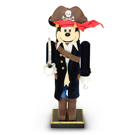 Disney Nutcracker Figure - Mickey Mouse Nutcracker - Pirate Mickey