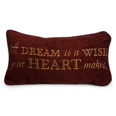 Disney Throw Pillow - Cinderella - A Dream is a Wish Your Heart Makes