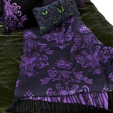 Haunted Mansion Throw Blanket
