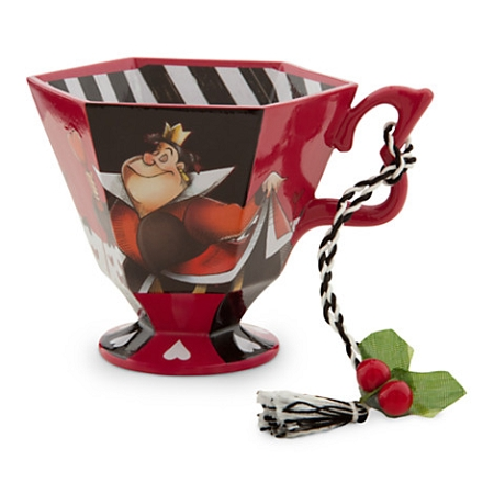 Disney Christmas Ornament - Alice in Wonderland Tea Cup - Queen