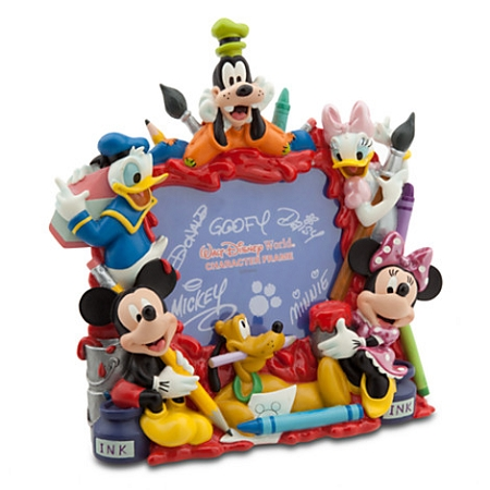 Disney Photo Frame - Mickey and Friends Painting - 4 x 6